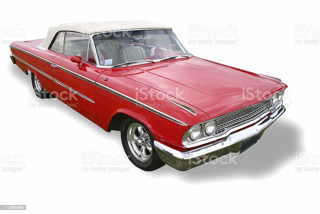 Chevrolet Z28  (path included) royalty-free stock photo