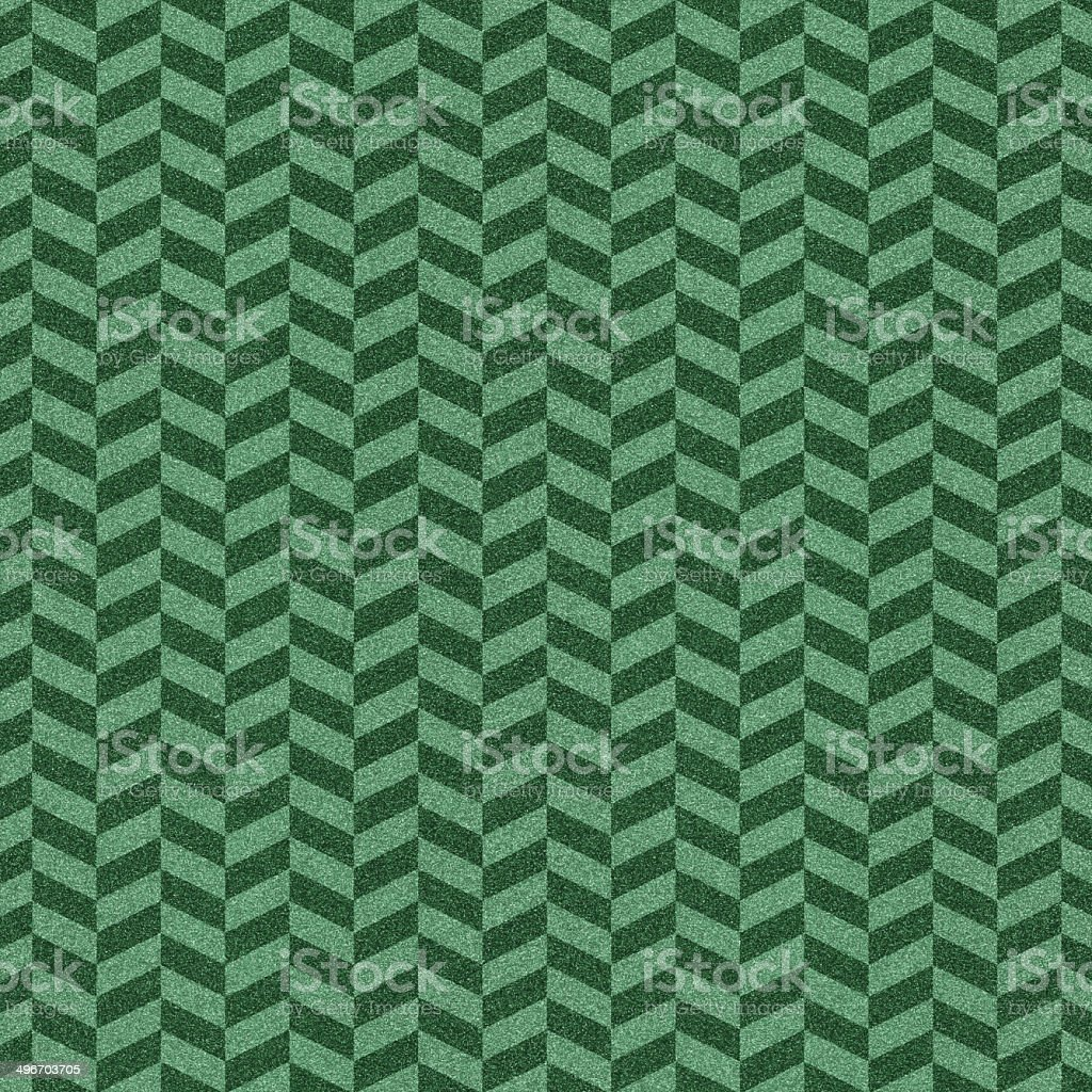 Chevron green glitter pattern on paper royalty-free stock photo