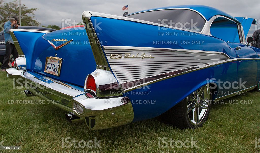 Chevy Bel Air 1957 stock photo