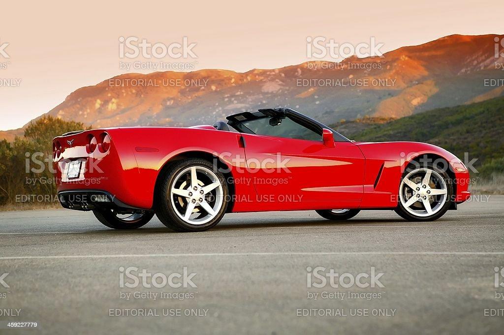 Chevy Corvette, 2005 stock photo