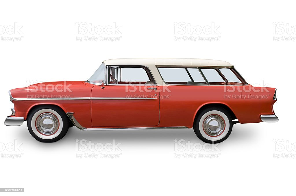 Chevy Nomad wagon - 1955 stock photo