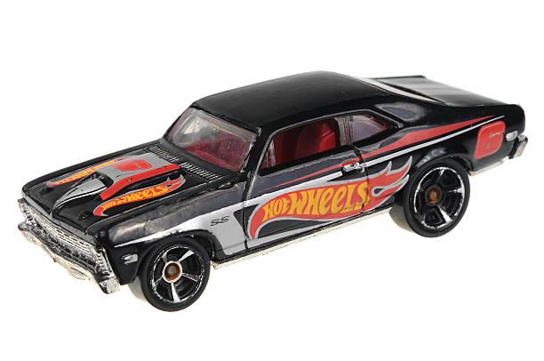 1968 Chevy Nova Hot Wheels Diecast Toy Car - foto de stock