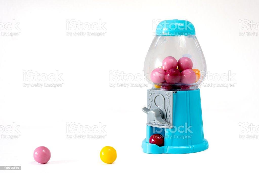chewing gum dispenser stock photo