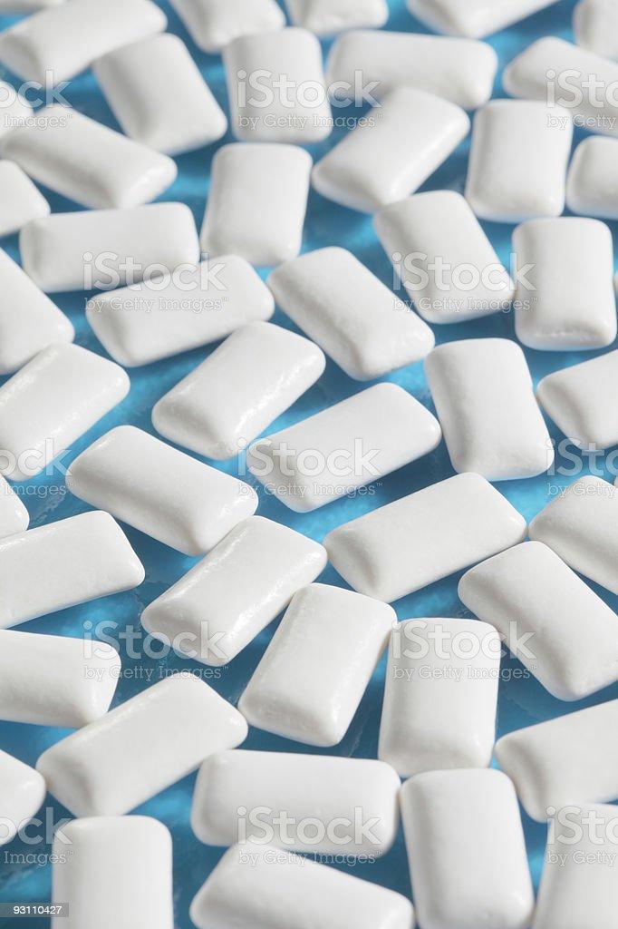 Chewing gum - Royalty-free Beyaz Stok görsel