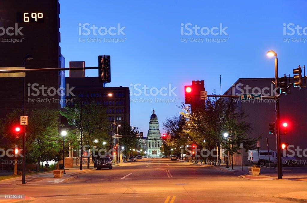 Cheyenne stock photo