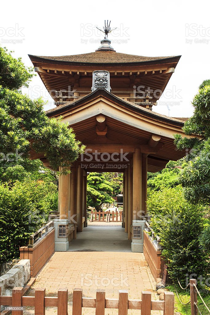 Chi lin Nunnery, Hong Kong royalty-free stock photo
