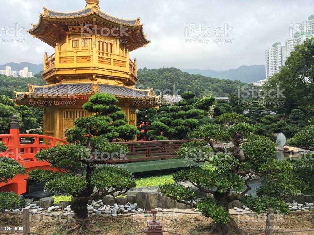 Chi Lin Nunnery stock photo