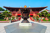 Chi Lin Nunnery is a buddhist temple complex located in Diamond Hill, Kowloon region of Hong Kong in China
