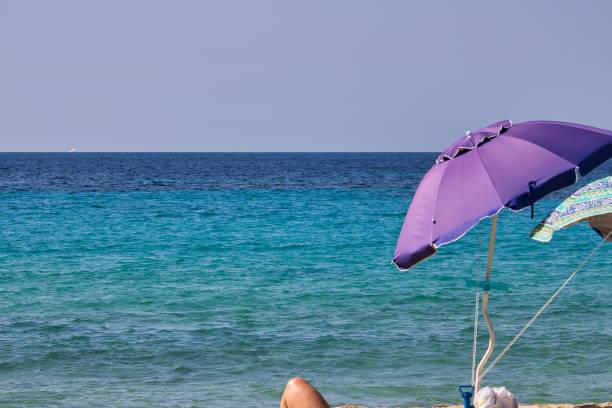 Spiaggia di Chia - foto stock