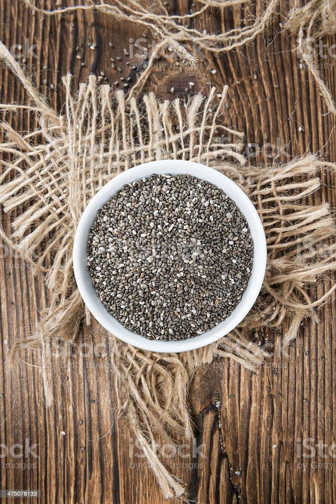 Chia Seeds royalty-free stock photo