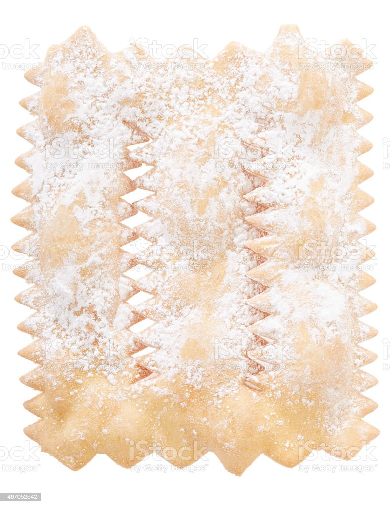 Chiacchiere, italian Carnival pastry stock photo