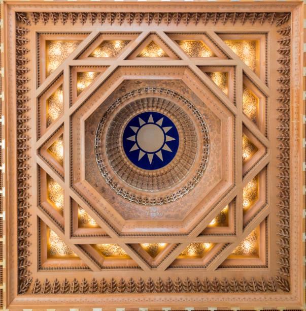 Chiang Kai Shek Memorial Hall ceiling – zdjęcie