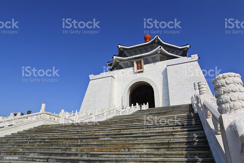chiang kai shek memorial hall stock photo