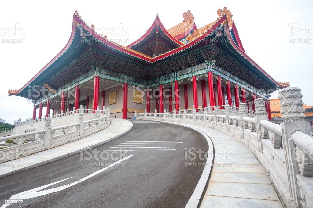 Chiang Kai shek memory hall in Taipei city, Taiwan stock photo