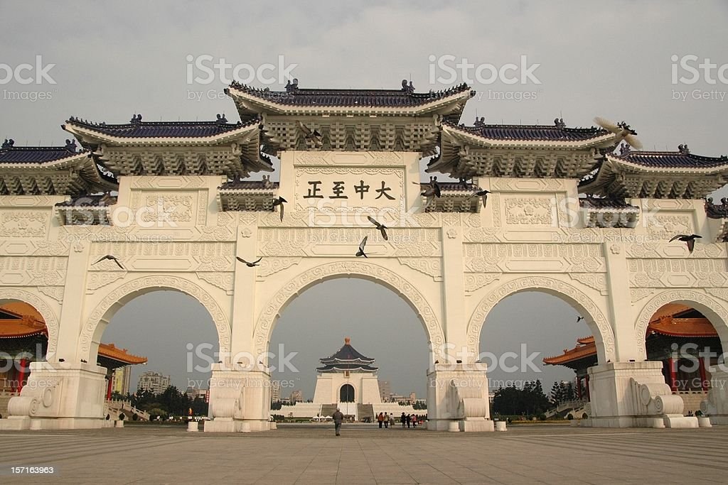 Chiang Kai-shek (CKS) Memorial Hall (Taipei, Taiwan, 2005) royalty-free stock photo