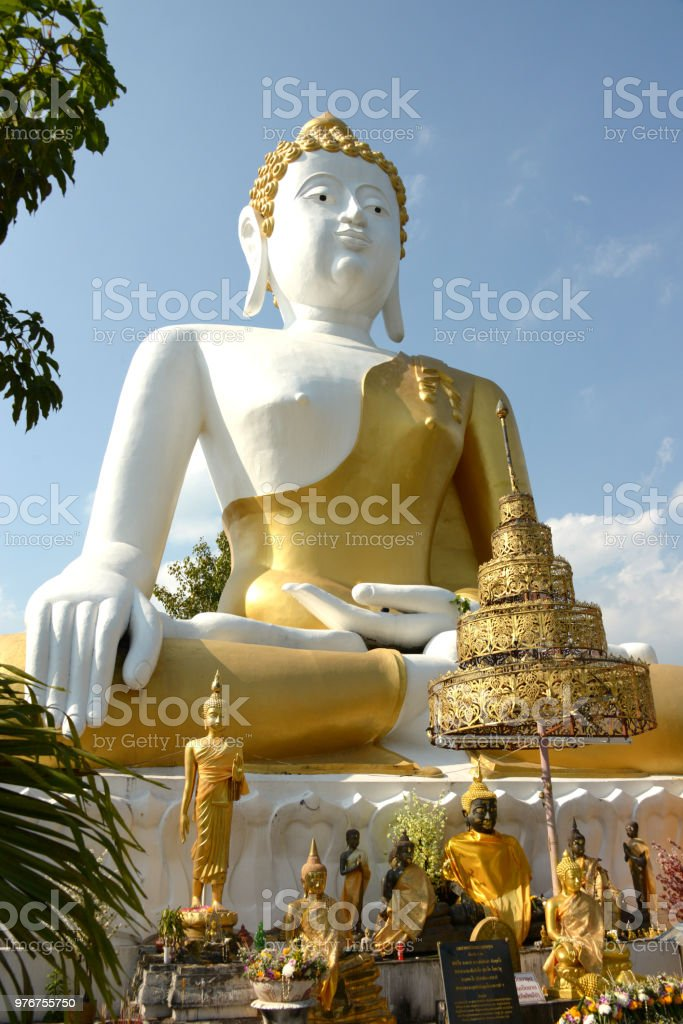 Chiang Mai Buddha stock photo