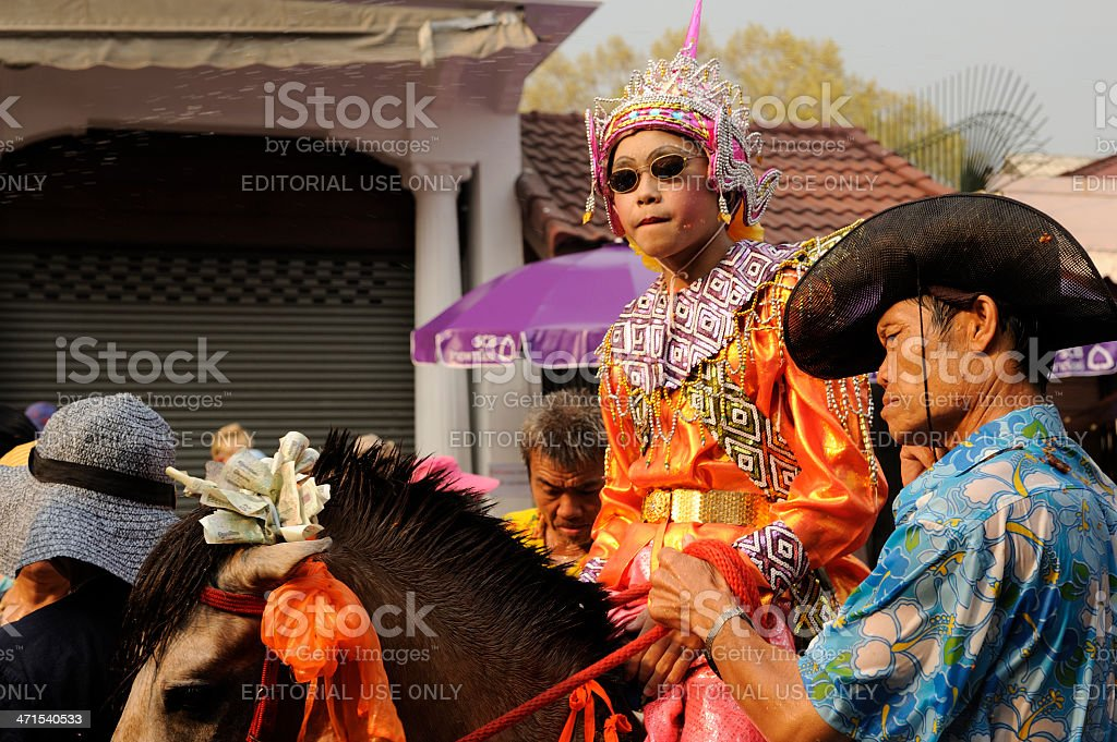 Chiang Mai Songkran festival 2013 royalty-free stock photo