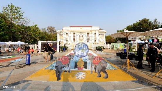 istock Chiangmai fest art on the street 2012 458730411