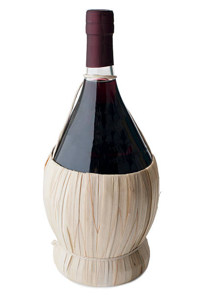 Chianti Bottle stock photo