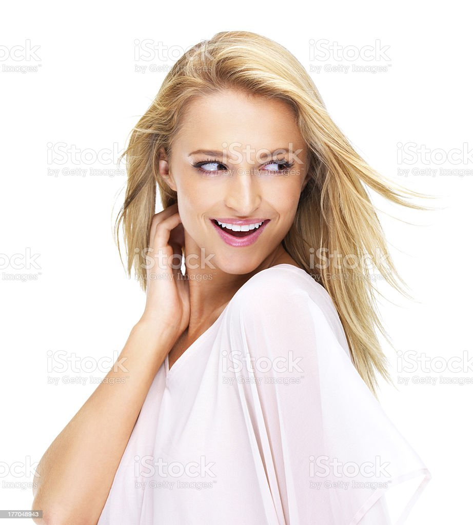 Chic and flirty royalty-free stock photo