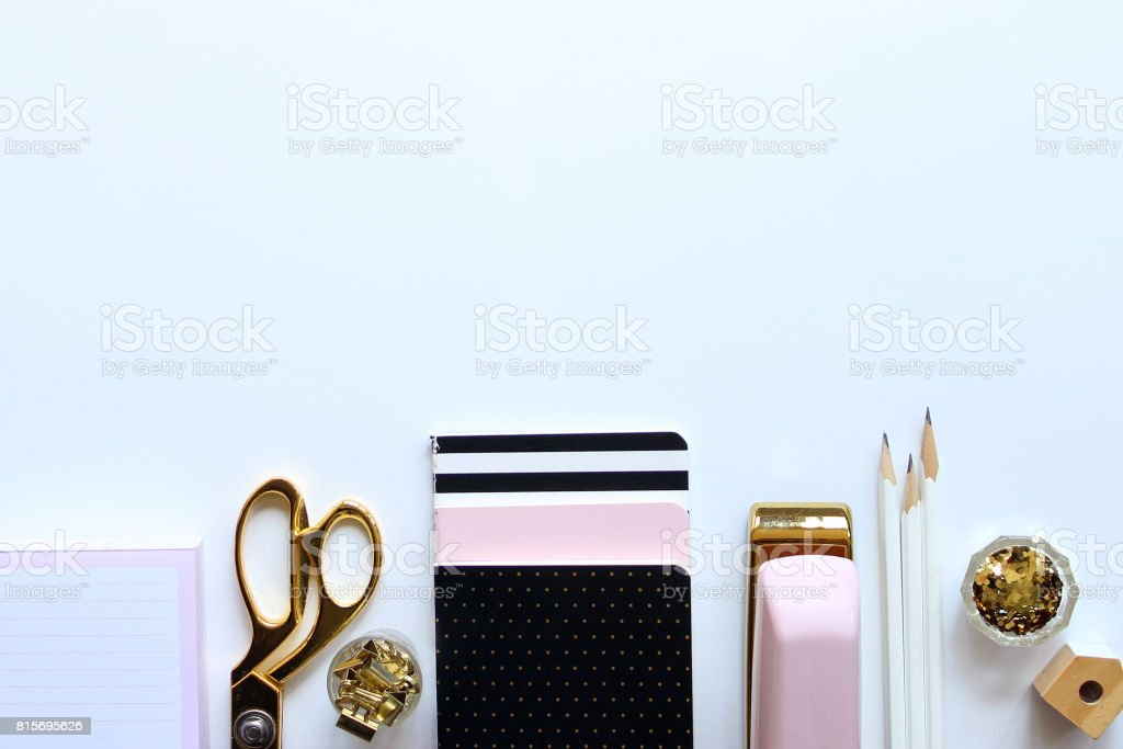 Chic desktop stock photo