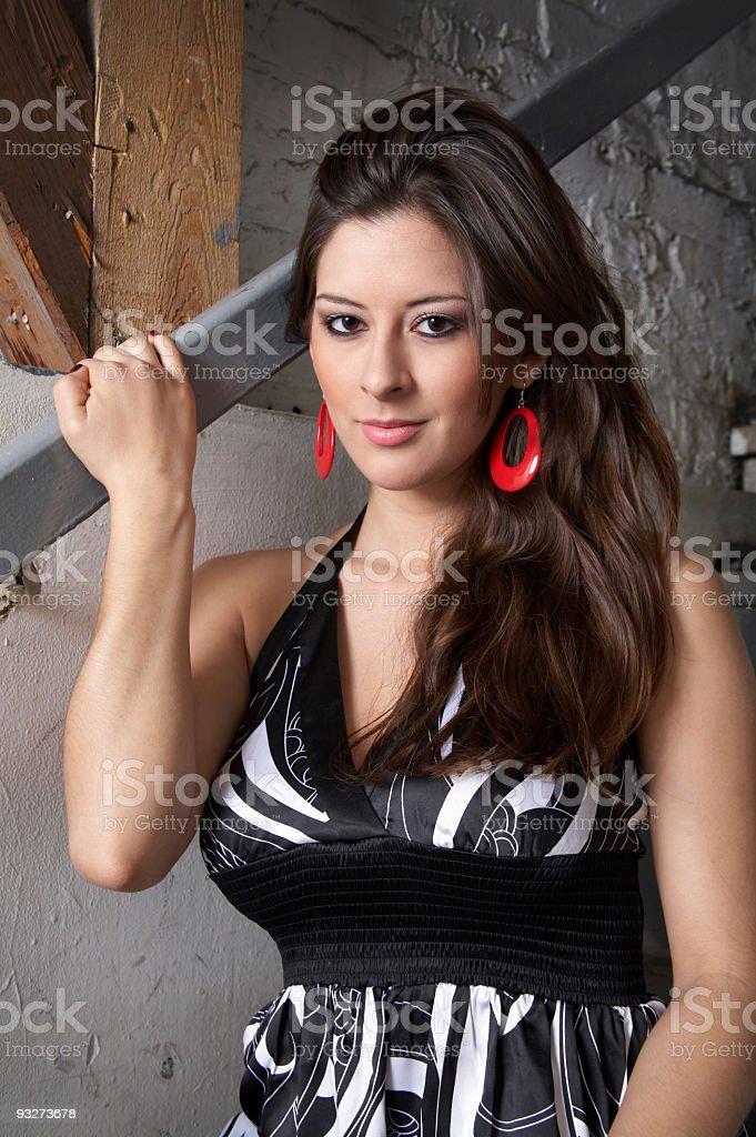 Chica Bonita royalty-free stock photo