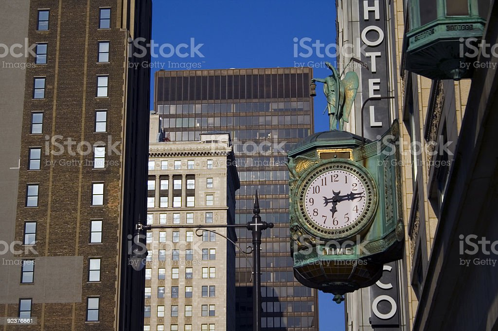 Chicago - 6:14 royalty-free stock photo