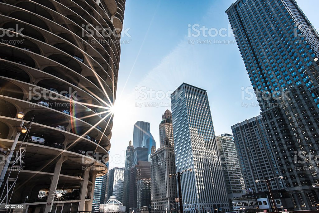 Chicago Architecture stock photo