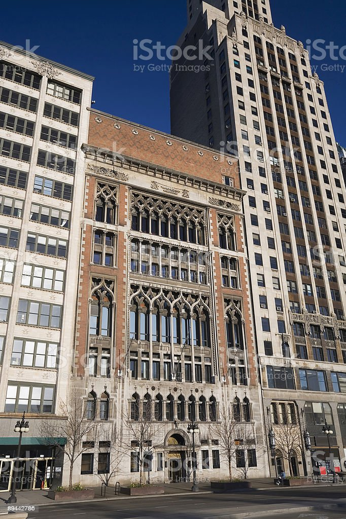 Chicago Athletic Association Building royalty-free stock photo