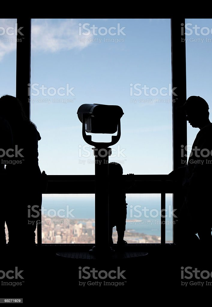 Chicago Below royalty-free stock photo