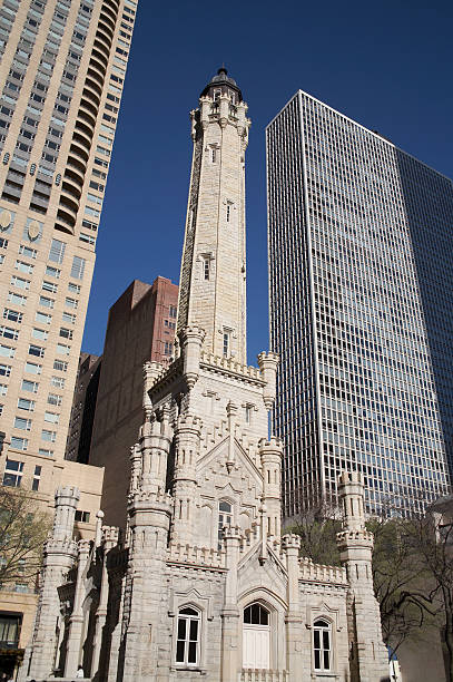 chicago water tower the first american water landmark