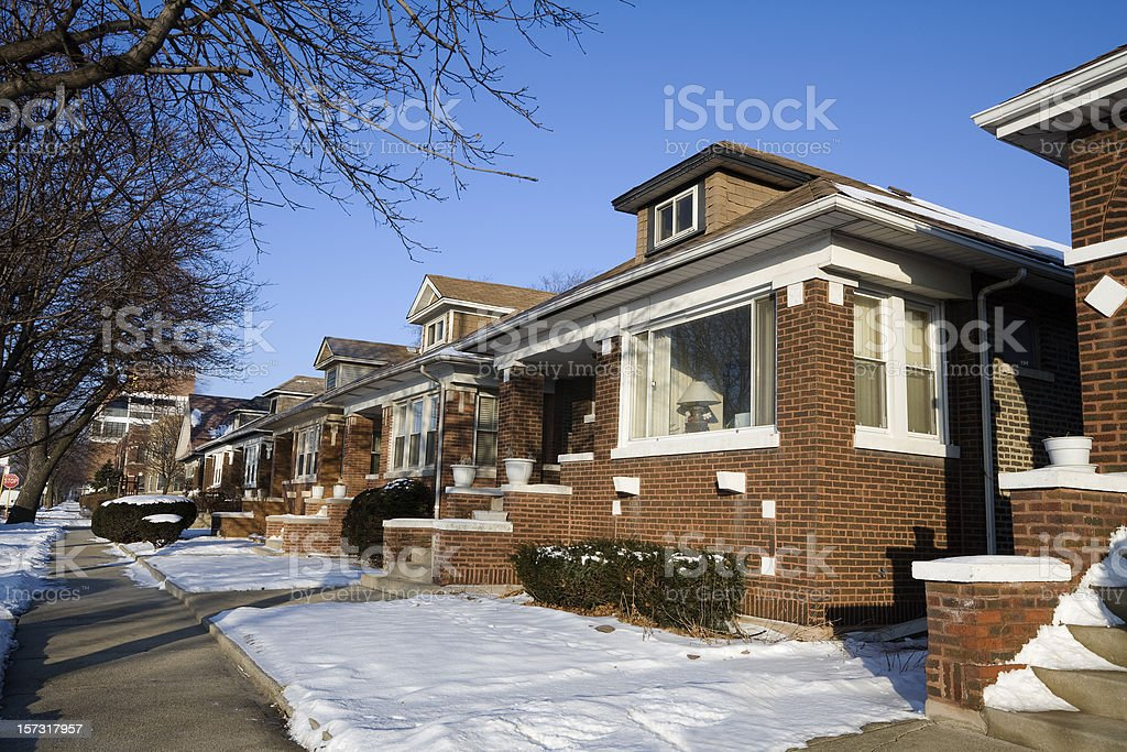 Chicago Bungalow royalty-free stock photo