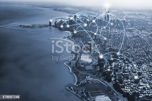 istock chicago city and connection concept 578567246