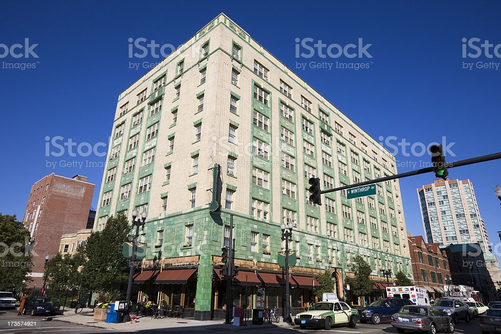 Chicago City Scene royalty-free stock photo