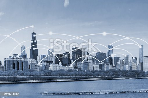 istock chicago city with connection concept 652876032