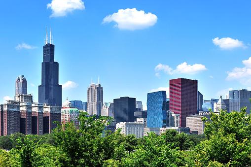 Chicago Cityscape, USA
