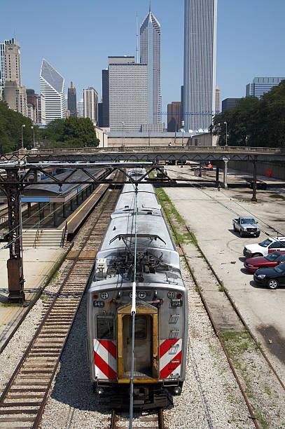 Chicago Pendler Züge – Foto