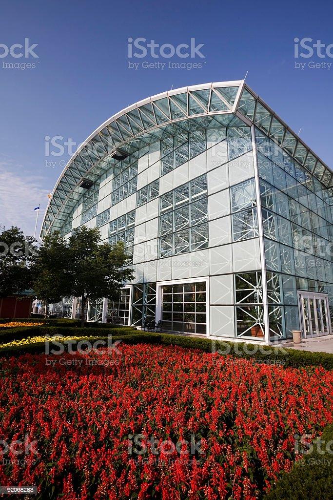 Chicago Crystal Gardens stock photo