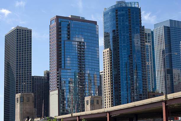 Der Innenstadt von chicago – Foto