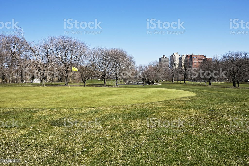 Chicago Golf Course royalty-free stock photo