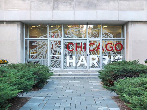 Chicago Harris School of Public Policy stock photo