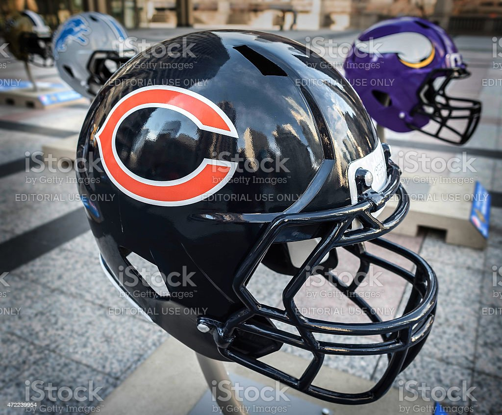 Chicago helmet stock photo