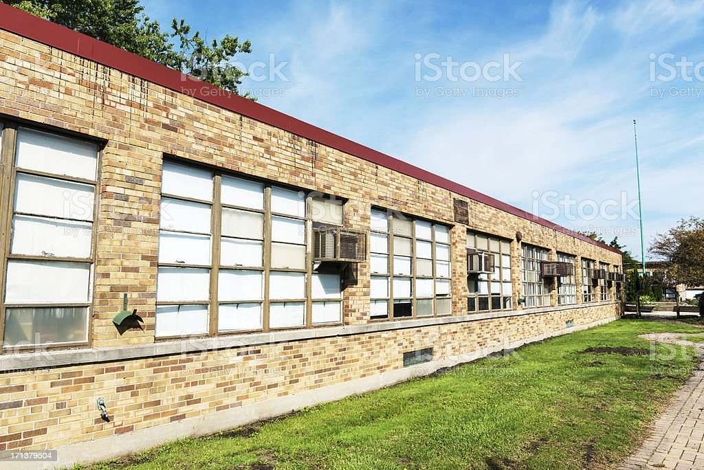 Chicago High School for Agricultural Sciences royalty-free stock photo
