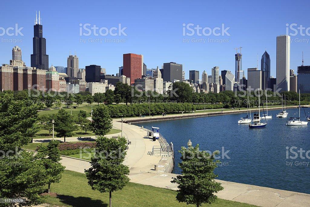 Chicago, IL stock photo