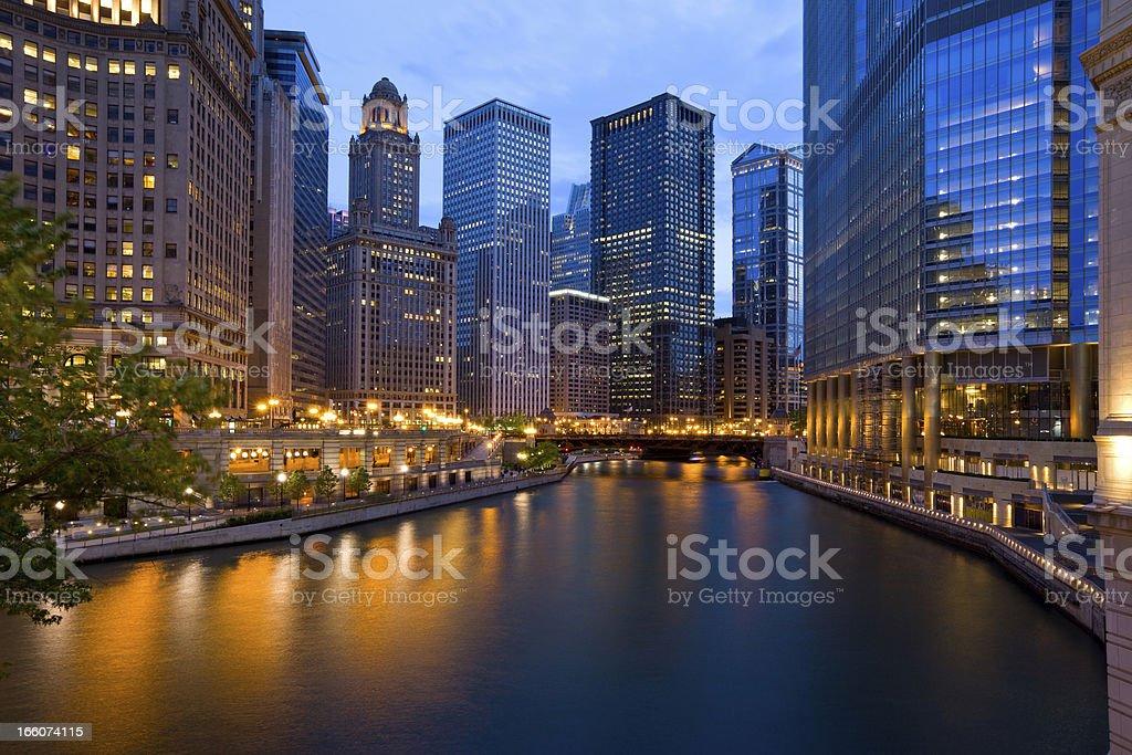 Chicago, Illinois, USA royalty-free stock photo