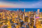istock Chicago, Illinois, USA Skyline 962204896