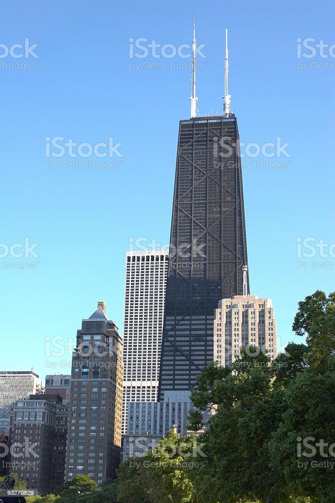 Chicago - John Hancock royalty-free stock photo