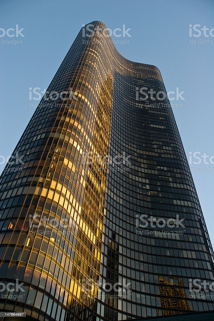 Chicago, Lake Point Tower stock photo