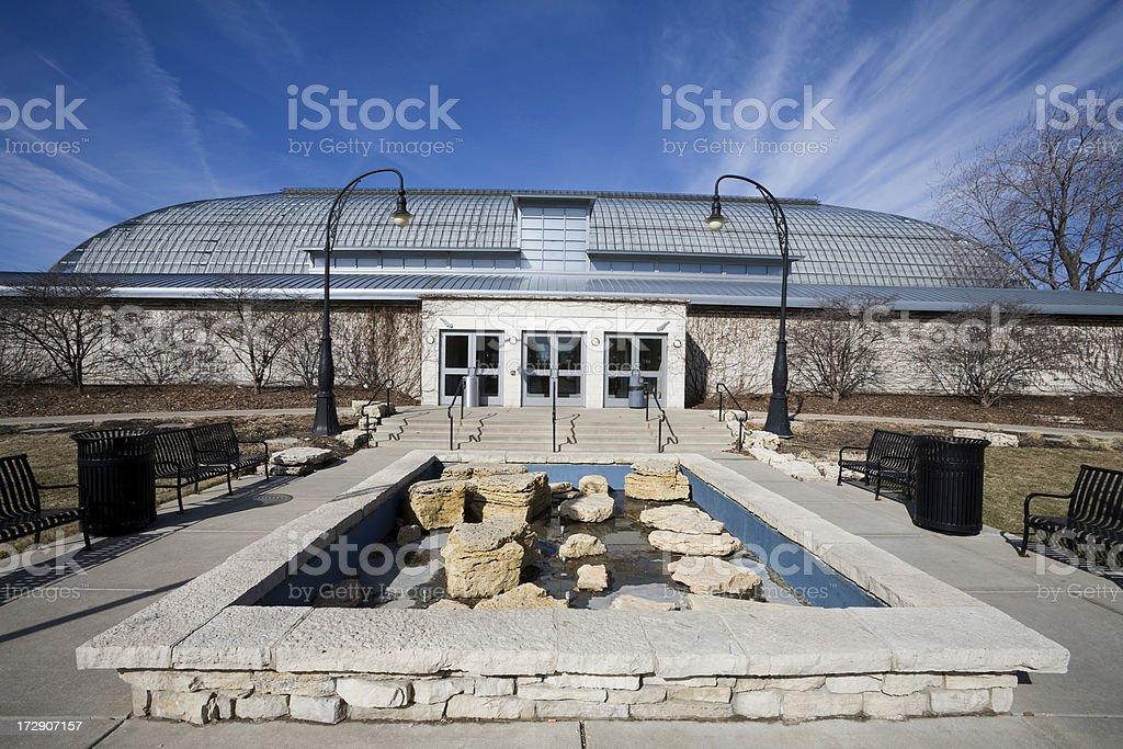 Chicago Landmark Conservatory royalty-free stock photo