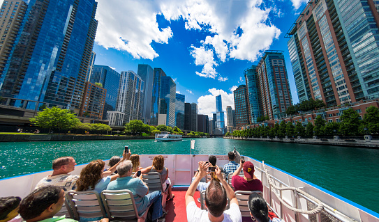 Chicago Loop Boat Trip